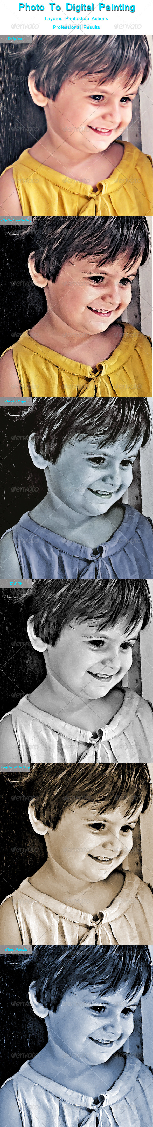 GraphicRiver Digital Painting Actions 5192644