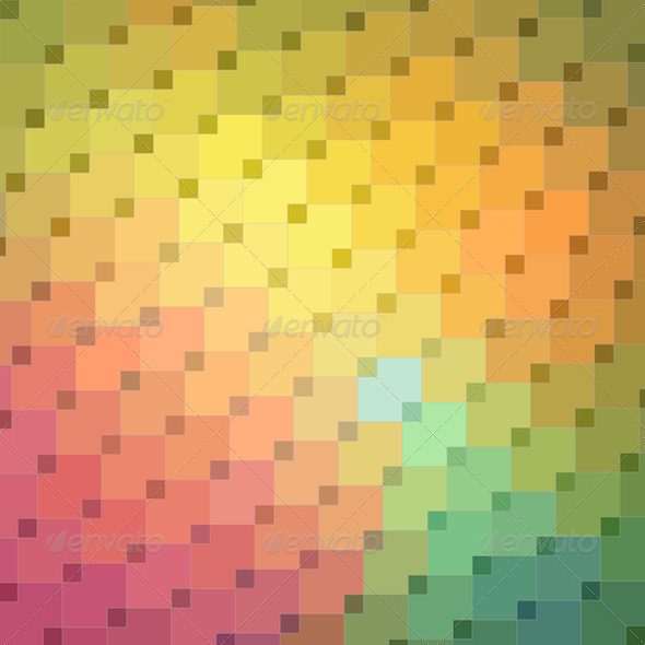 GraphicRiver Colorful Mosaic Background 5192947