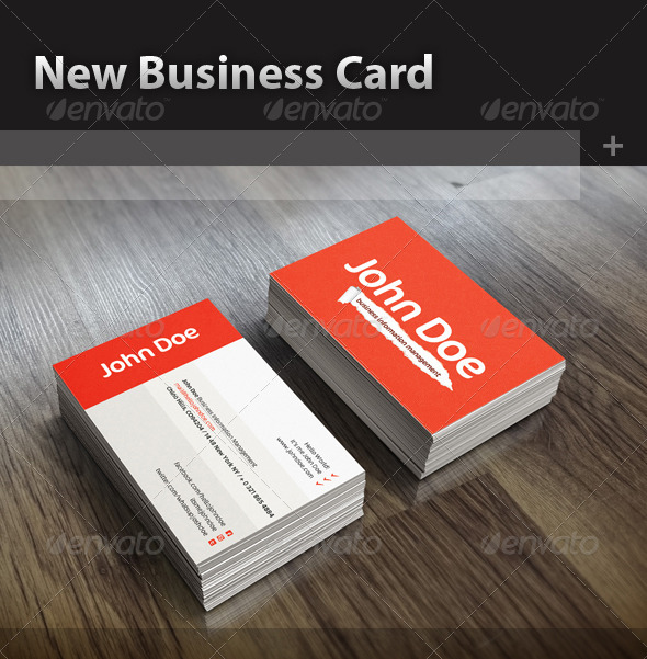GraphicRiver New Business Card 5193292