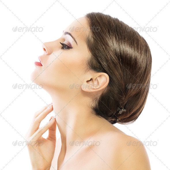 Soft glowing skin - Stock Photo - Images