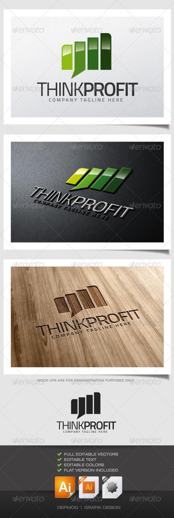 GraphicRiver Think Profit Logo 5193826