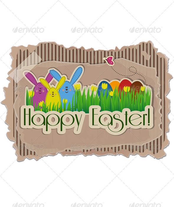 GraphicRiver Easter Background 5194219