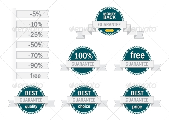 GraphicRiver Guarantee Labels 5194289