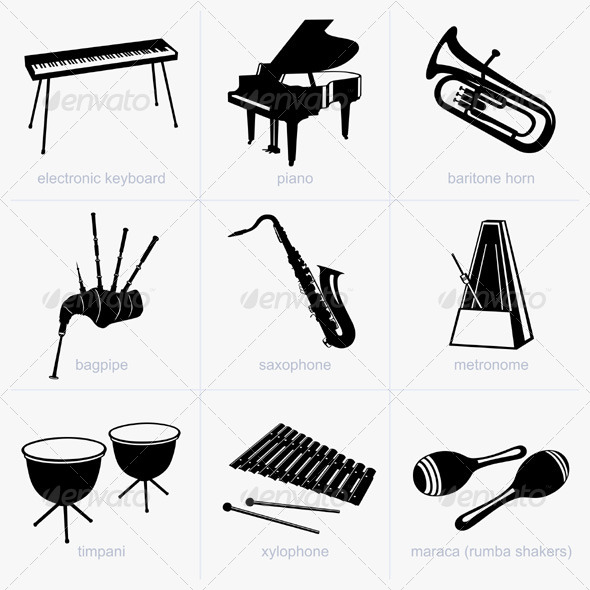 GraphicRiver Musical Instruments 5194596