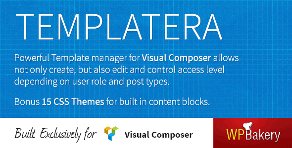 CodeCanyon Templatera Template Manager for Visual Composer 5195991