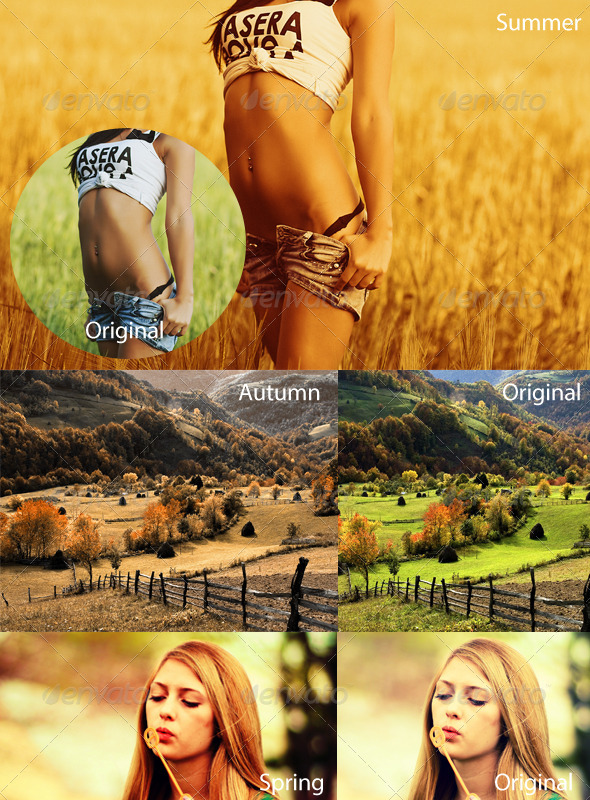 GraphicRiver Wild 4 Seasons Actions 2013 5196274