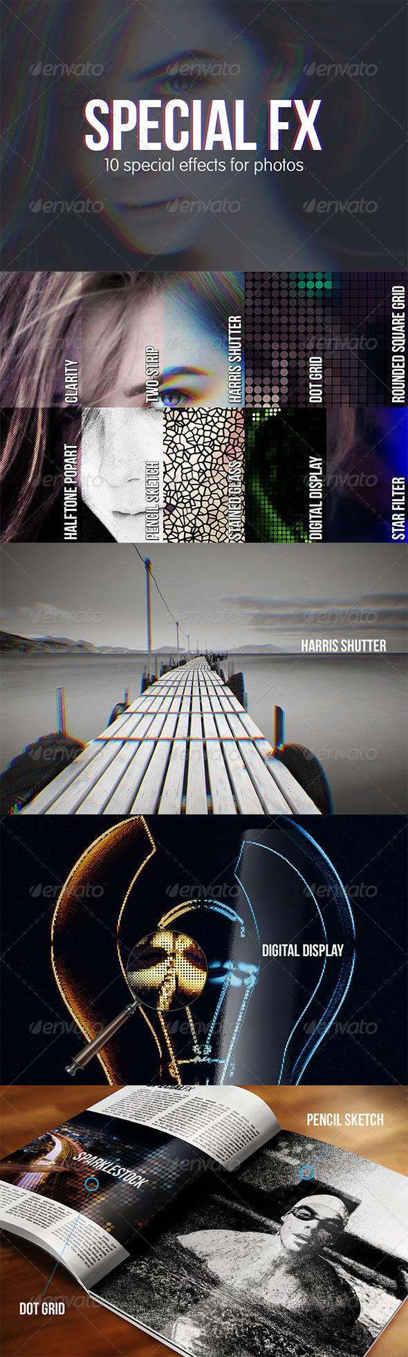 GraphicRiver 10 Special FX for Photos 5197057