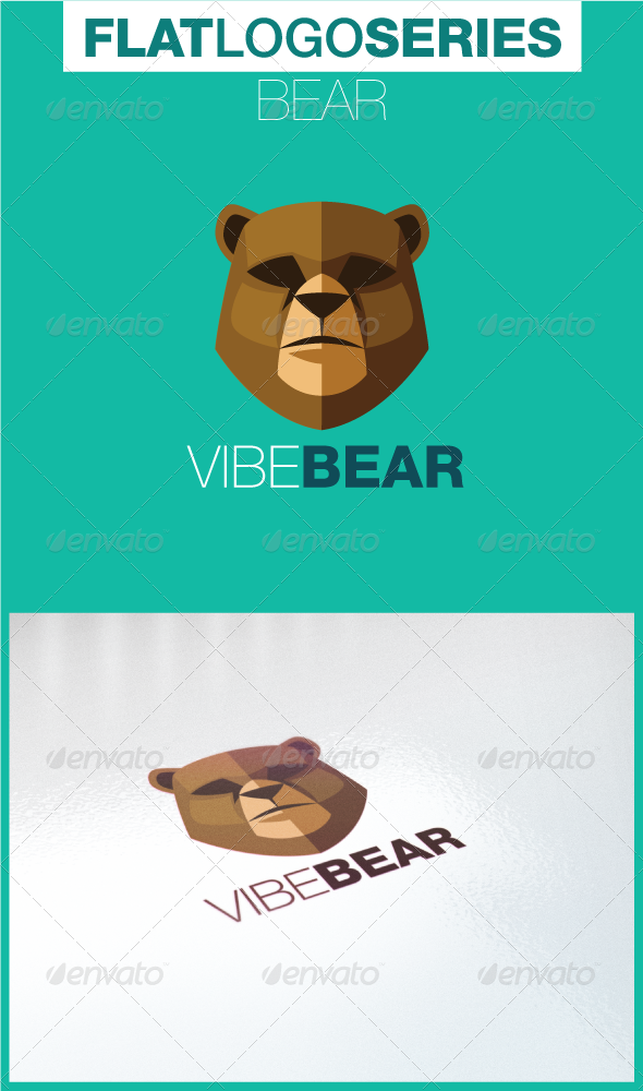 GraphicRiver Bear Logo 5197059
