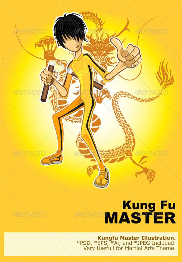 GraphicRiver Kungfu Master 5197397