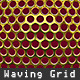 Waving Metal Grid loop - VideoHive Item for Sale