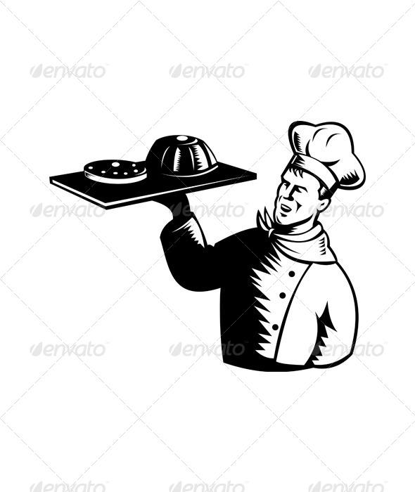 GraphicRiver Chef Serving 5198962
