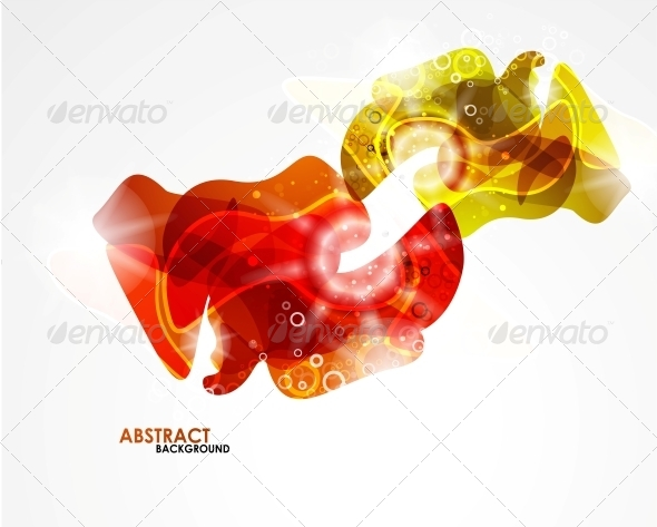 GraphicRiver Abstract Colorful Modern Smooth Shape 5198972