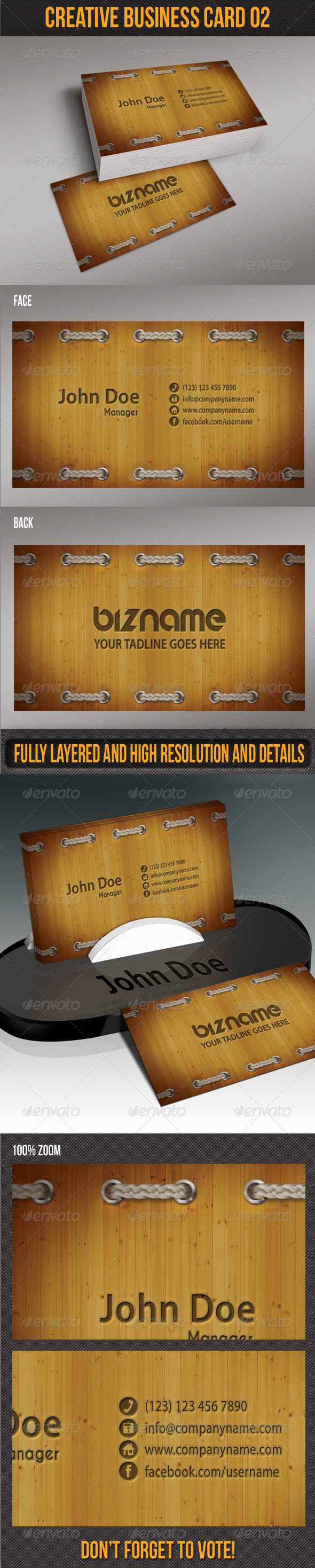 GraphicRiver Creative Business Card 02 5130182