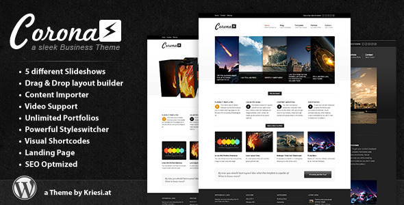 Corona - Business & Portfolio Theme - ThemeForest