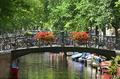 Amsterdam cityscape.