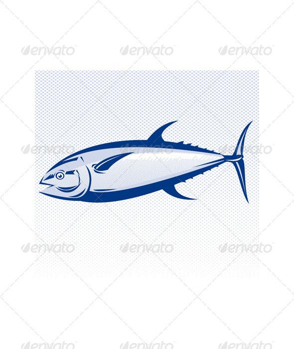 GraphicRiver Bluefin Tuna Fish 5199077