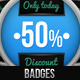 Discount Badges - GraphicRiver Item for Sale