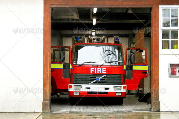 Fire truck - Stock Photo - Images