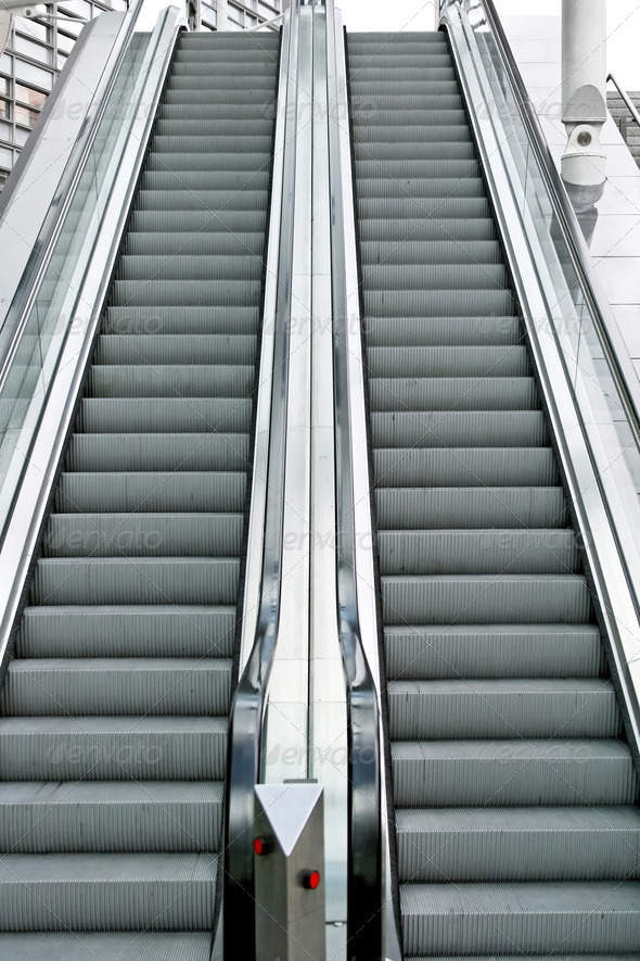 Escalators - Stock Photo - Images