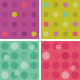 Seamless Polka-Dot and Floral Patterns - GraphicRiver Item for Sale
