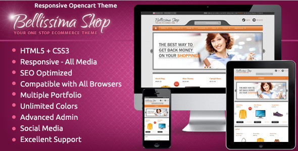 ThemeForest Bellissima OpenCart Responsive Theme 5199443