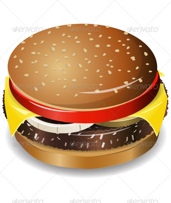 GraphicRiver Cheeseburger 5199611