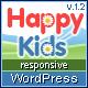 Happy Kids – Children WordPress Theme  Free Download