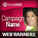 Multipurpose Campaign Web Banners - GraphicRiver Item for Sale