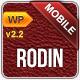 Rodin Mobile Template WordPress Version  Free Download