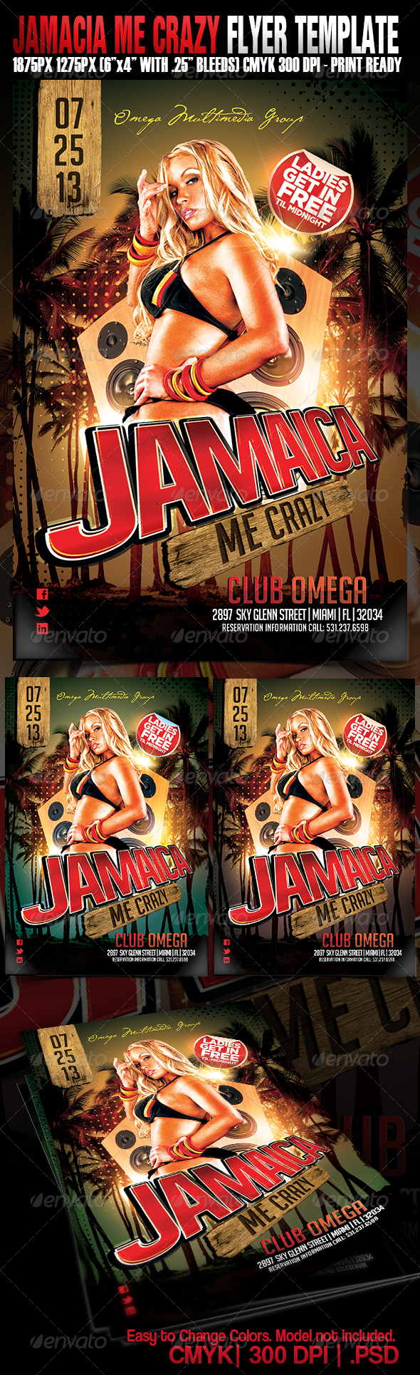 GraphicRiver Jamaica Me Crazy 5138731