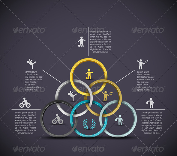 GraphicRiver Infographic sport background 5133991