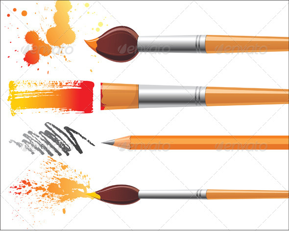 GraphicRiver Painter s Instruments 5200444