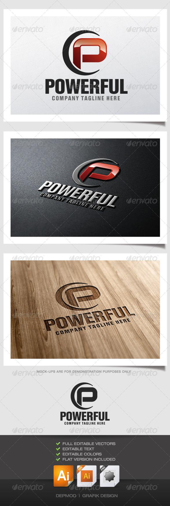 GraphicRiver Powerful Logo 5200884