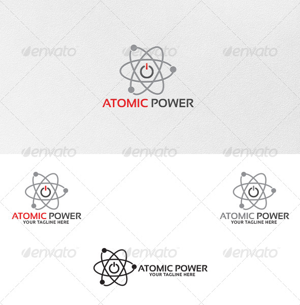 GraphicRiver Atomic Power Logo Template 5201448