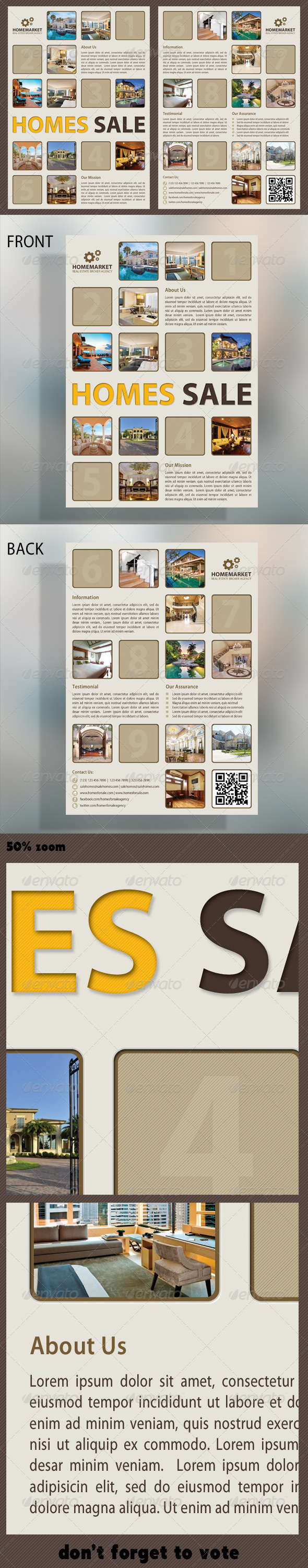 GraphicRiver Real Estate Flyer 5201476