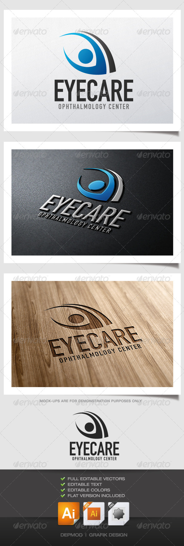 GraphicRiver Eye Care Logo 5201584