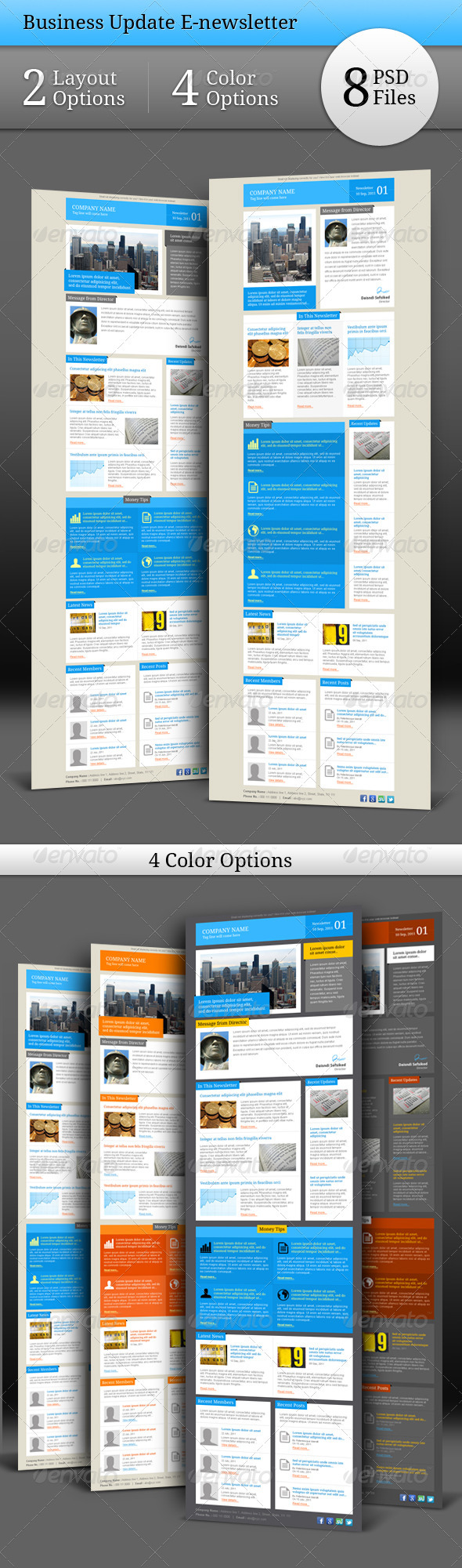 GraphicRiver Business Update E-newsletter 534574