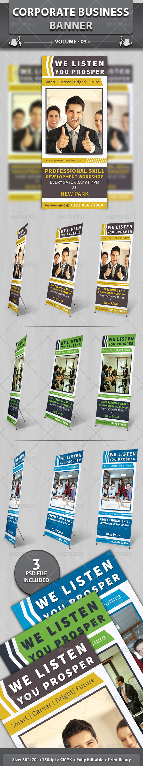 GraphicRiver Corporate Business Banner v3 5202473