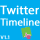 Twitter Timeline - CodeCanyon Item for Sale
