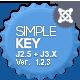 SimpleKey :: One Page Portfolio Joomla Template  Free Download