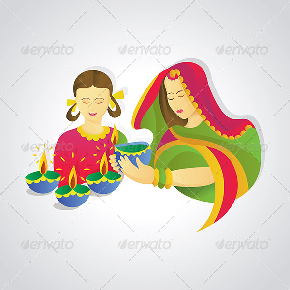 GraphicRiver Traditional Indian Decoration Style 5207907