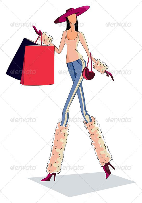 GraphicRiver Modern Women 5207913