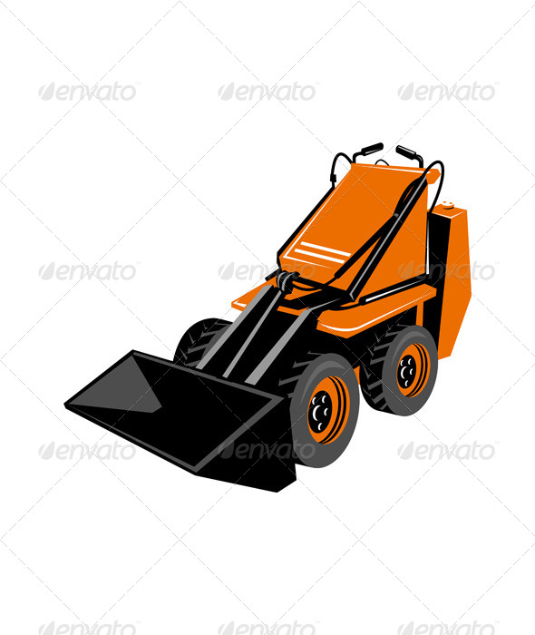GraphicRiver Compact Skid Steer 5208006