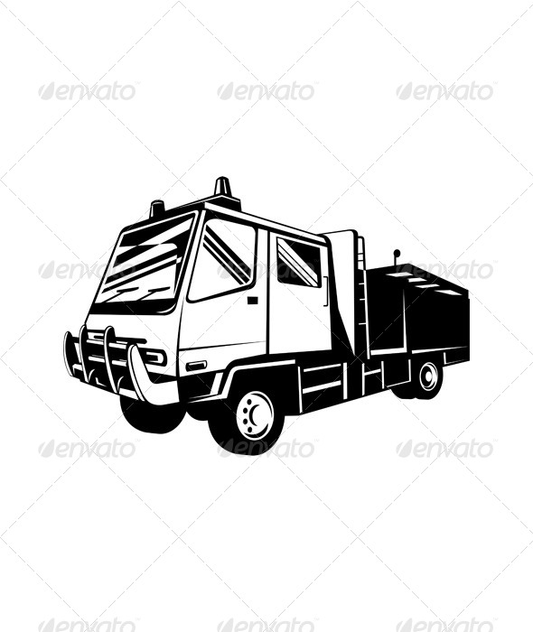GraphicRiver Fire Truck Appliance 5208206