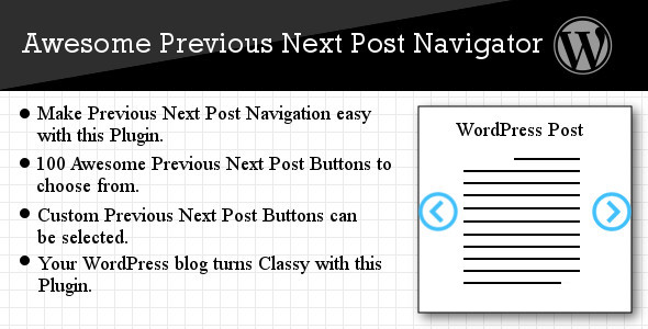 CodeCanyon Awesome Previous Next Post Navigator 5208767
