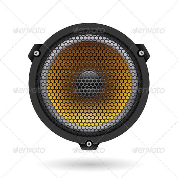 GraphicRiver Realistic Speaker 5208933
