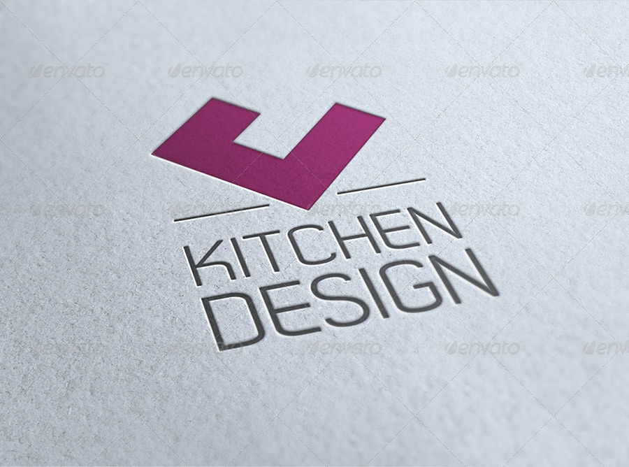 Jonny 39 s kitchen corporate identity branding pack for Kitchen decoration logo