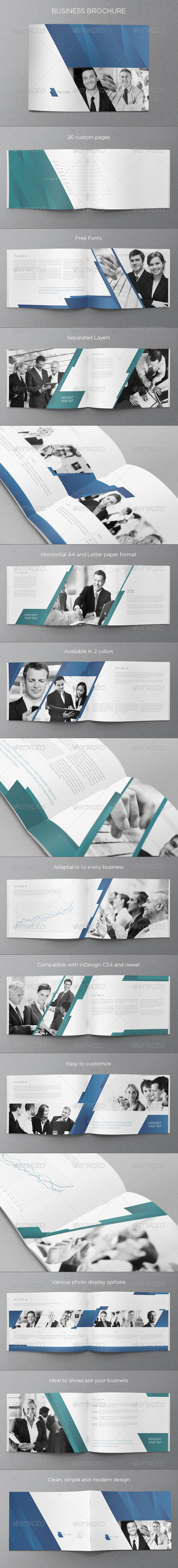 GraphicRiver Business Brochure 5209636