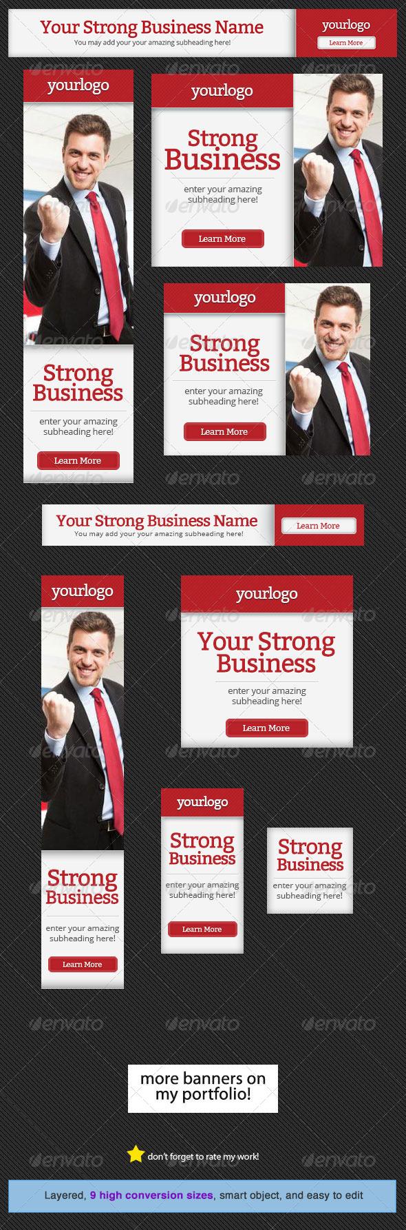 GraphicRiver Corporate Web Banner Design Template 16 5210199