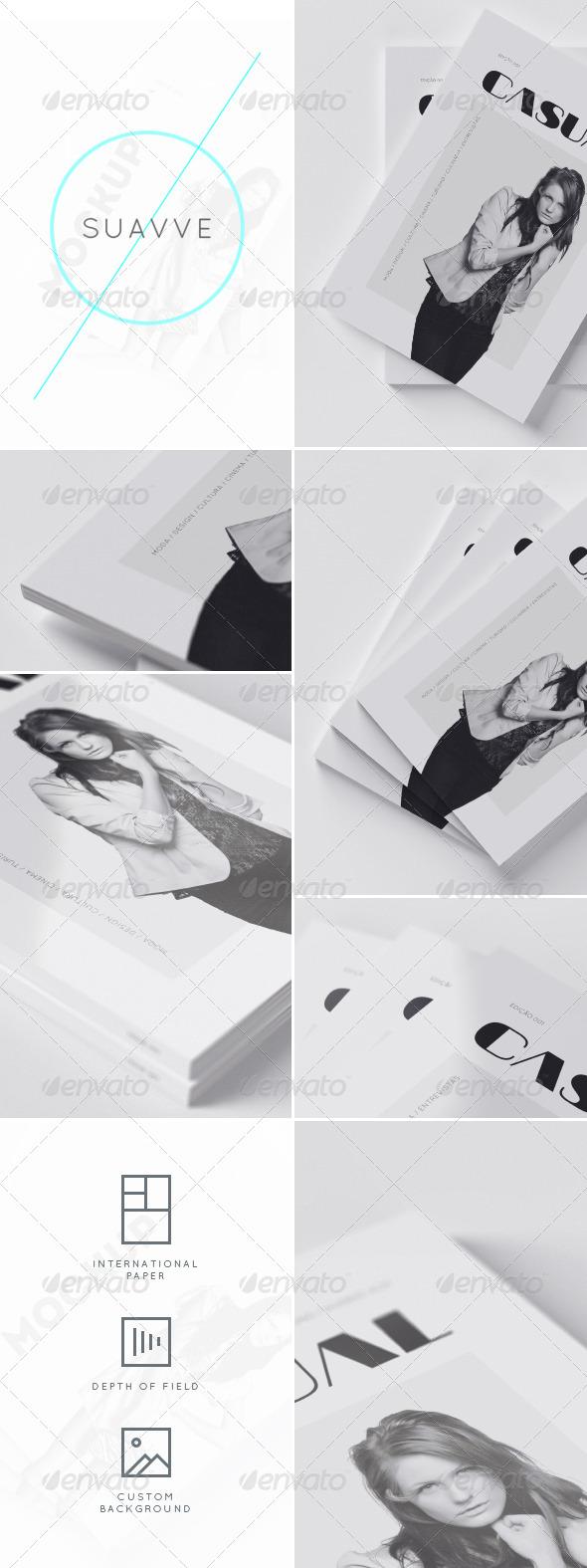 SUAVVE - Magazine Cover Mockup - Magazines Print